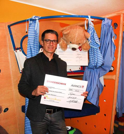 Avancis GmbH spendet erneut für Bärenherz