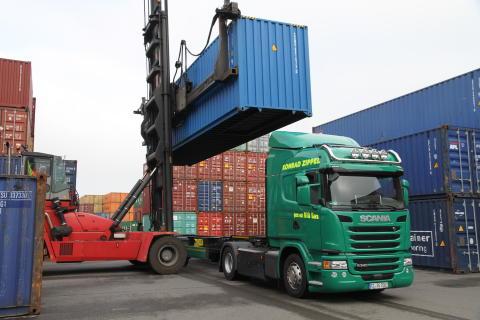 Scania CNG-Lkw für Zippel-Gruppe auf letzter Meile nachhaltig im Einsatz
