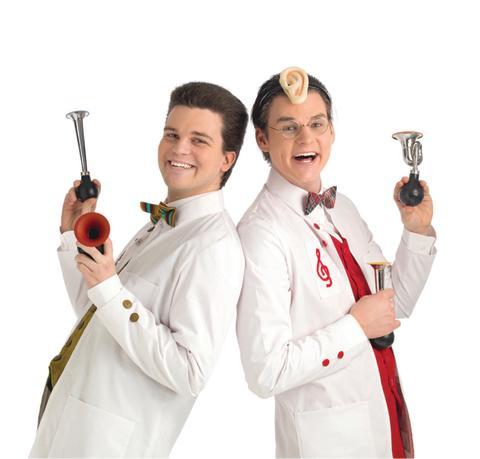 Doktor Kling och Syser Violino – Niklas Holtne och Povel Andersson