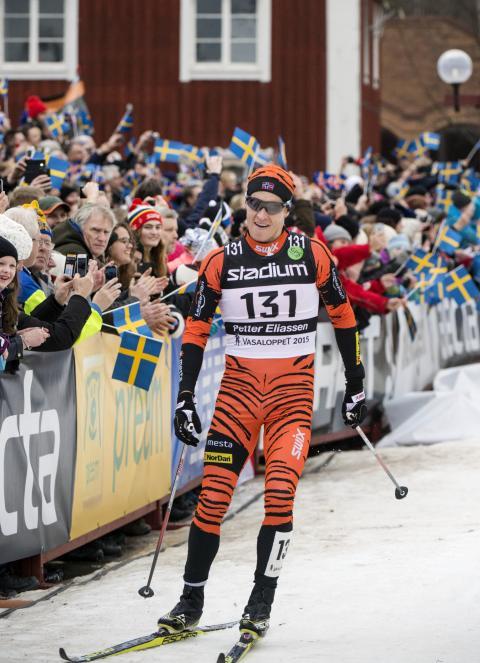 Petter Eliassen, Norge, vann Vasaloppet 2015