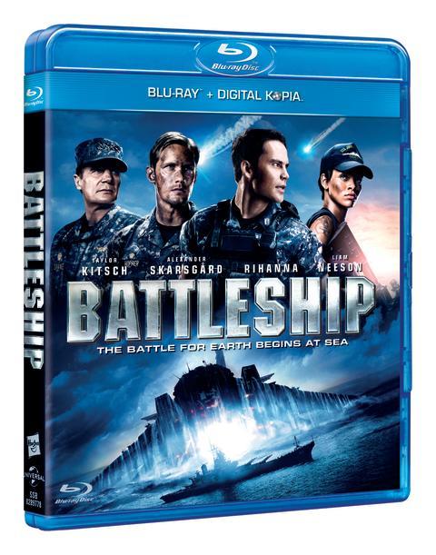 Battleship på blu-ray™ och DVD 22 augusti