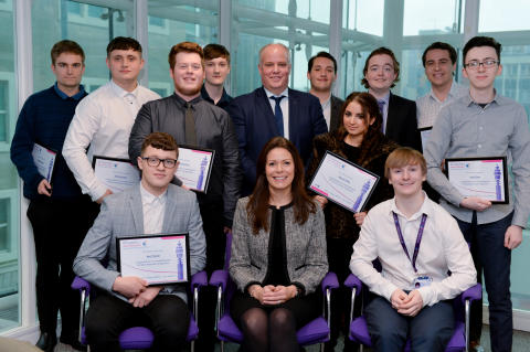 Cardiff youngsters graduate BT 'Work Ready' programme with flying colours