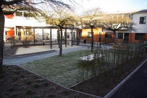 Nya lägenheter i gamla förskolan i Mölnlycke