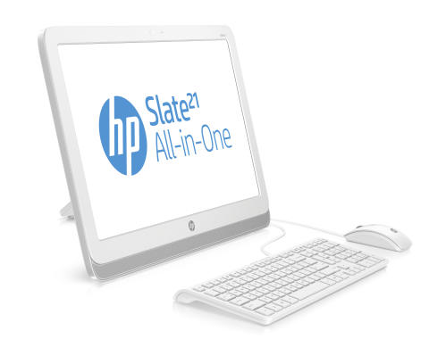 HP Slate21 AIO with keyboard and mouse