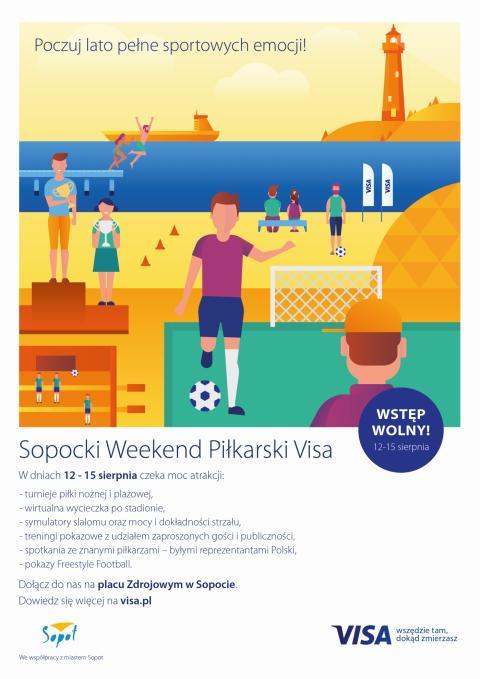 Visa organizuje weekend piłkarski w Sopocie i weekend sportowy w Zakopanem