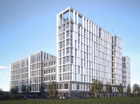 Axis huvudkontor - nytt landmärke i Lund