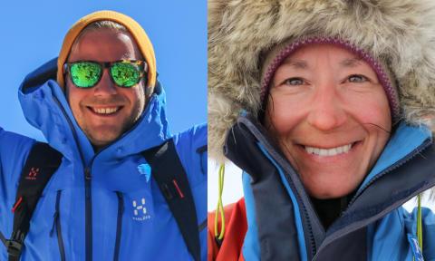 Johanna Davidsson och Robin Trygg utses till Årets äventyrare 2016