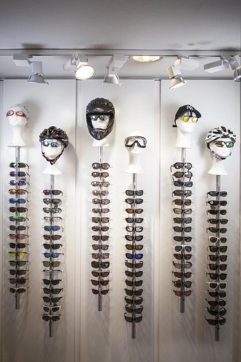 Sportglasögonställ