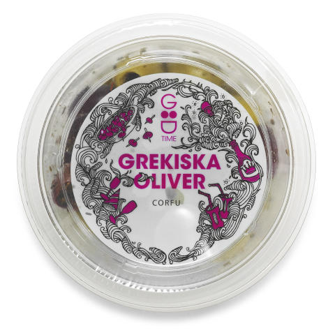 Good Time Grekiska oliver Corfu