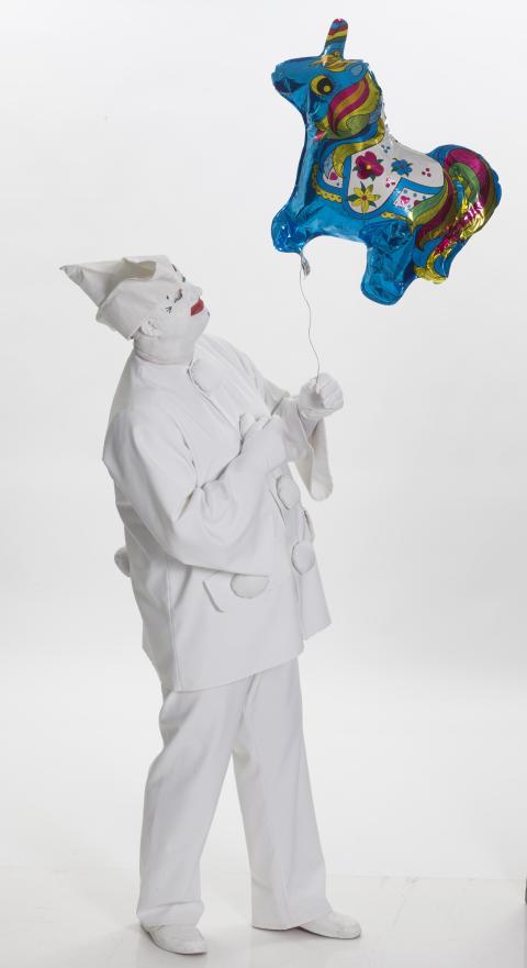 Pjerrot med ballon