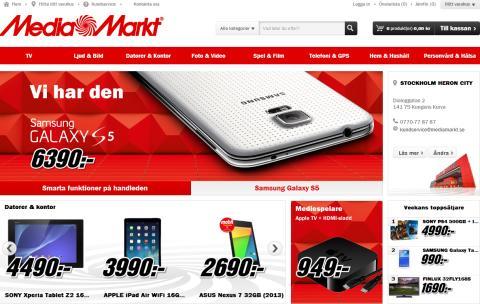Media Markt lanserar ny hemsida med ännu bättre shoppingupplevelse