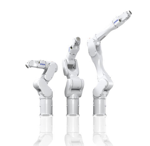 Epson launches new 6-axis industrial robots, its highest payload robots   Advanced force sensor and vision system offered as technology feature options