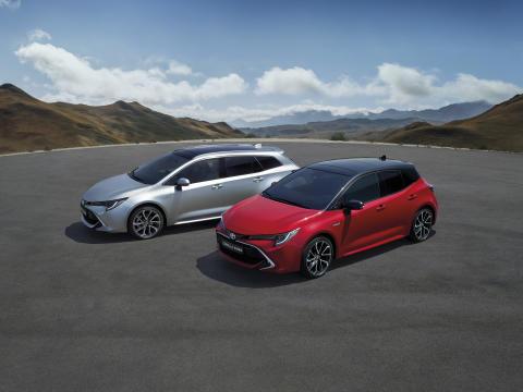 Pressemateriell fra Paris Motor Show: Nye Corolla