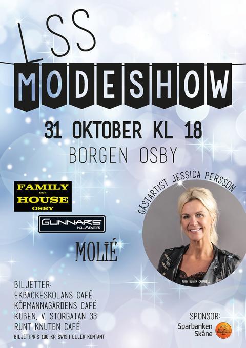 LSS modeshow på Borgen