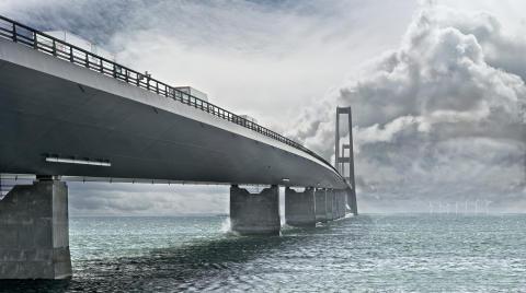 Stora Bältbron, Danmark