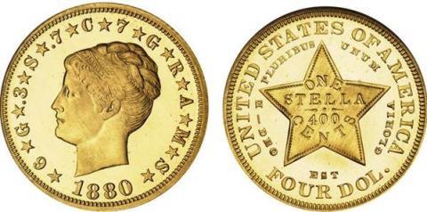 Gullmynt auksjonert bort for 15 millioner kroner