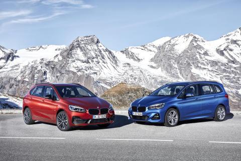 Nya BMW 2-serien: Active Tourer och Gran Tourer - Rymlig funktionalitet och komfort kombinerad med sportdynamik