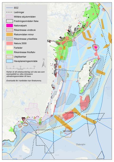 Havsplanering - så ska havet användas