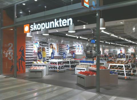 Skopunkten öppnar i Skellefteå