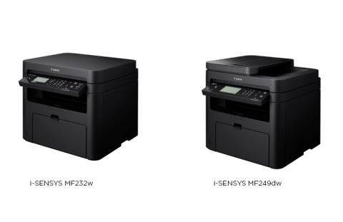 Canon lanserer nye i-SENSYS MF230- og MF240-serier med sort-hvitt-utskrift og mange tilkoblingsmuligheter for mindre kontormiljøer