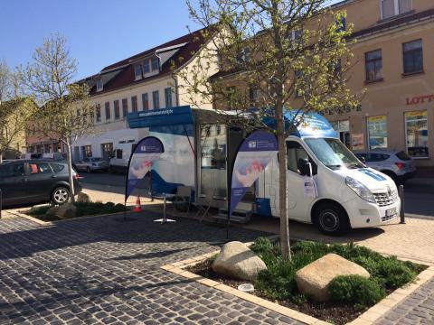Beratungsmobil der Unabhängigen Patientenberatung kommt am 20. September nach Bad Frankenhausen.