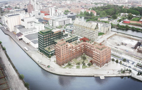 Lantmännen utvecklar kvarteret Triton i Malmö