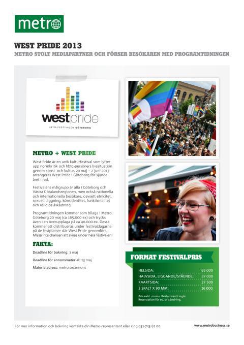 West Pride Säljblad