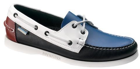 Sebago Trend Docksides Blue
