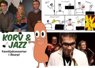Korv & Jazz – ny säsong familjekonserter i Åkarp