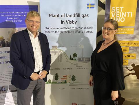 Lisa Larsson och Magnus Hellgren