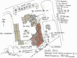 Inbjudan:  2013-02-20 kl 16:00 tas första spadtaget vid Bergs Hyreshus ABs bygge av Hackås skola
