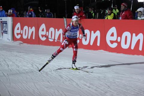 5. plass til de norske jentene på stafetten