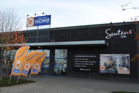 Premiär för Electrolux Home och Sentens Kök & Förvaring på Samarkand, Växjö