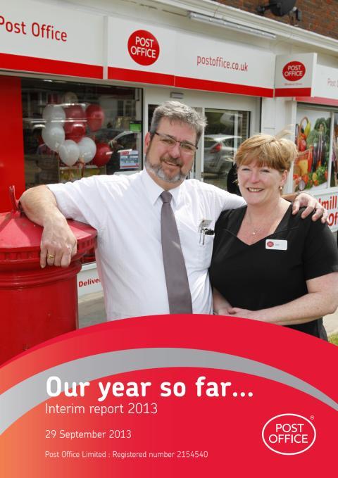 Post Office Interim Report 2013