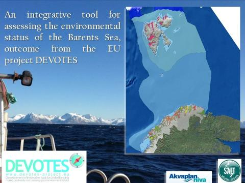 DEVOTES Environmental assessment tool - Arctic Frontiers side event