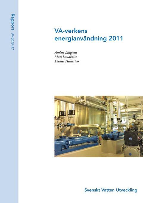 SVU-rapport 2013-17: VA-verkens energianvändning 2011 (Management och övriga)