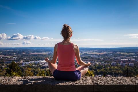 Yoga vid Sweden Outdoor Festival