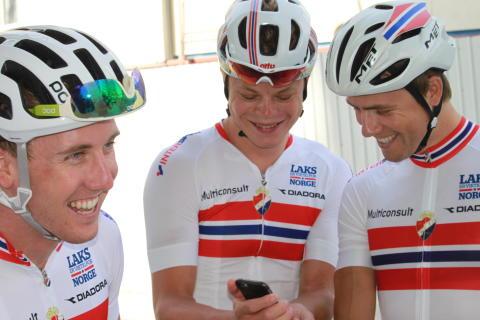 God stemning under sykkel-VM