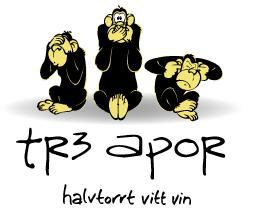 Tr3 apor - Nytt vitt vin på Systembolaget