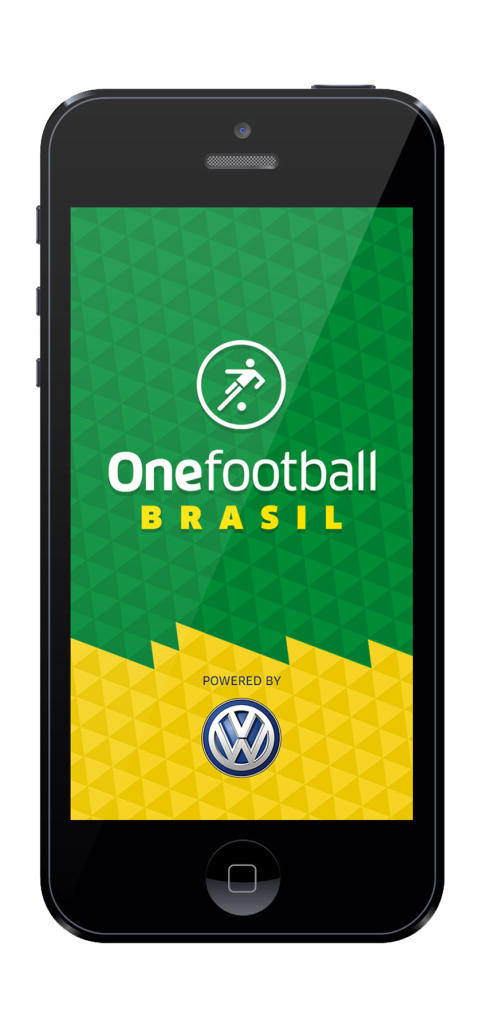 Here we go, here we go... It's kick off time for Volkswagen's football fan app
