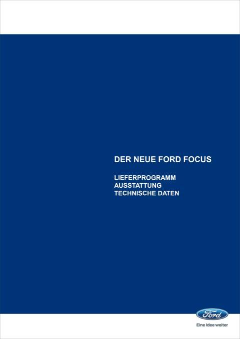 Technische Daten Ford Focus