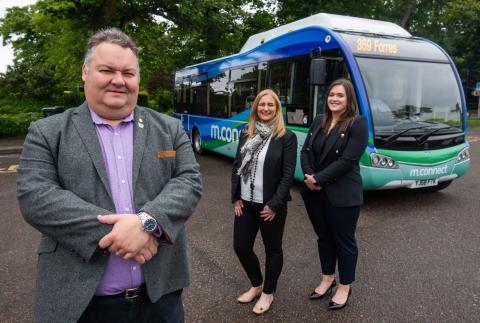 Hop on Scotland's first rural green bus - in Moray!