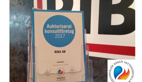 RIBA - auktoriserat konsultföretag