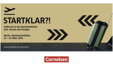 Cornelsen unterstützt Werkstatt-Konferenz des Goethe-Instituts zum Sprachenlernen