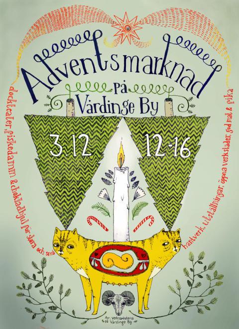 Adventsmarknad på Vårdinge By