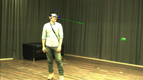 Motion Capturing and Eye Tracking Combined