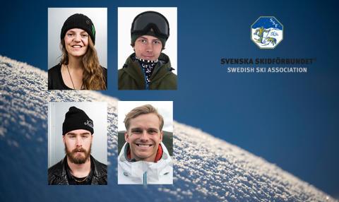 Fyra freestyleåkare uttagna till OS