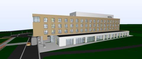 Bygger et av Østfolds største hotell