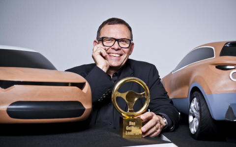 Golden Steering Wheel till Peter Schreyer