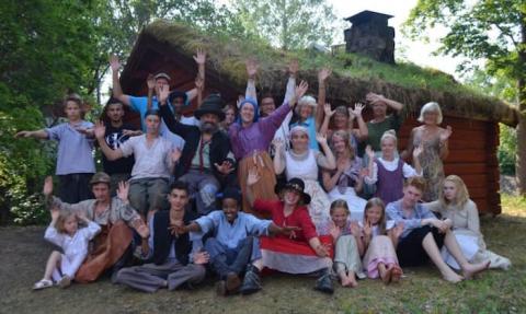 Hyttans Hemligheter - ett teateräventyr i Löa hytta